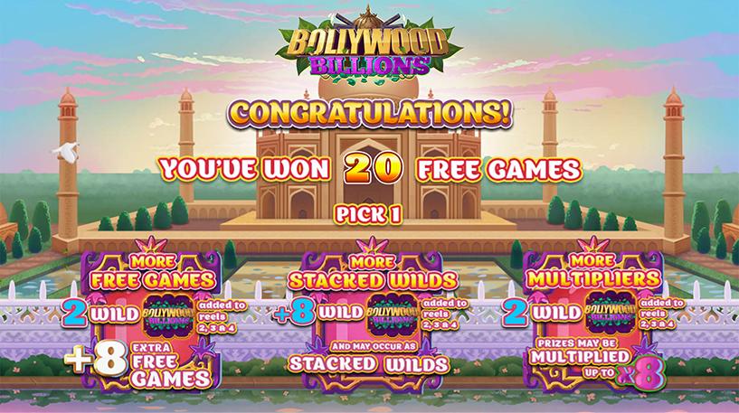Bollywood Billions Slot Screenshot 3