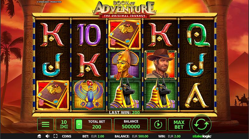 Book of Adventure Slot Screenshot 1