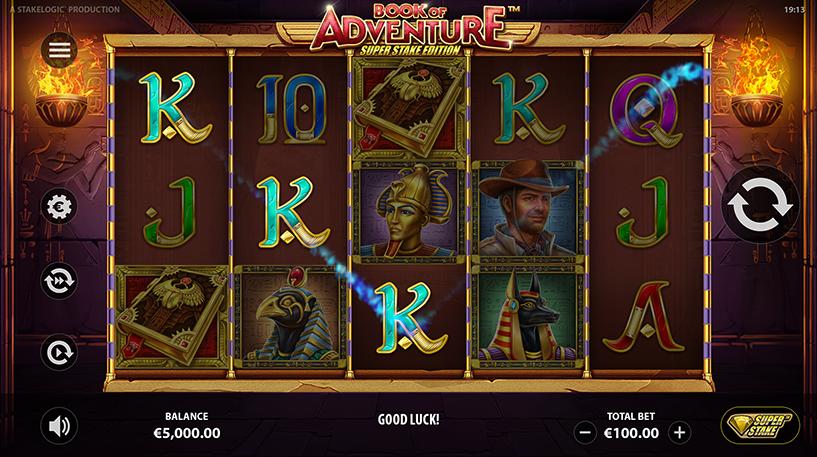 Book of Adventure Super Stake Edition Screenshot 2