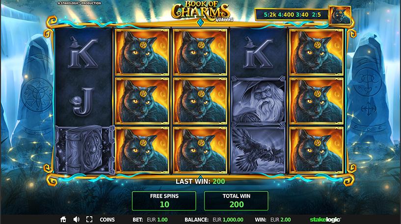 Book of Charms Quattro Slot Screenshot 2