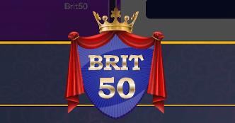 Brit 50 Bingo