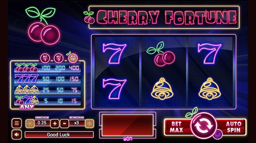 Cherry Fortune Slot Screenshot 1