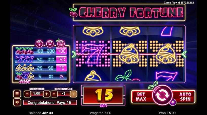 Cherry Fortune Slot Screenshot 2