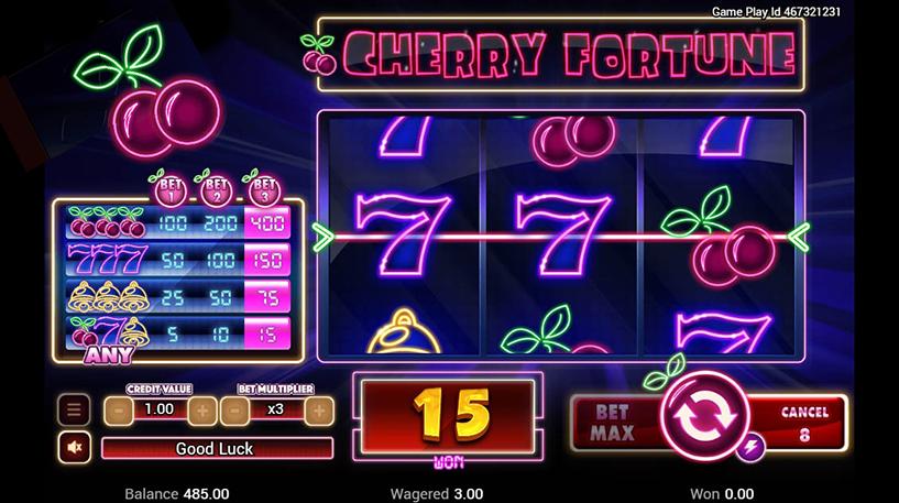 Cherry Fortune Slot Screenshot 3