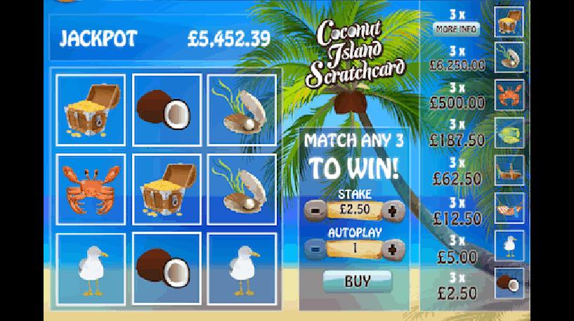 Coconut Island Bingo Screenshot 2