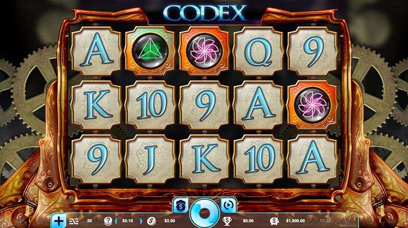 Codex Slot Screenshot 1