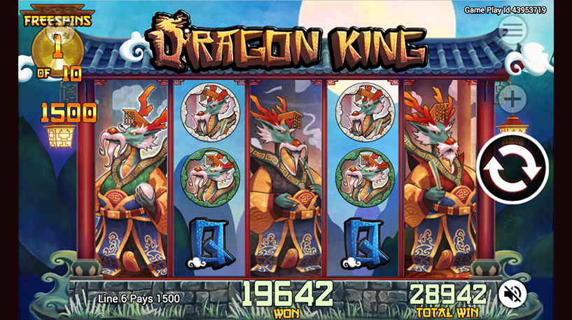 Dragon King Slot Screenshot 1