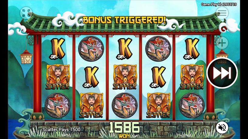 Dragon King Slot Screenshot 2