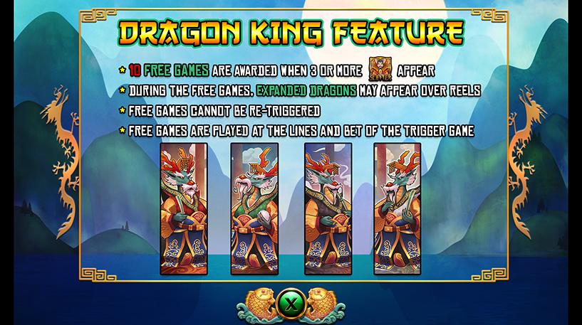 Dragon King Slot Screenshot 3