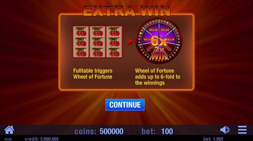 Extra Win Slot Screenshot 1