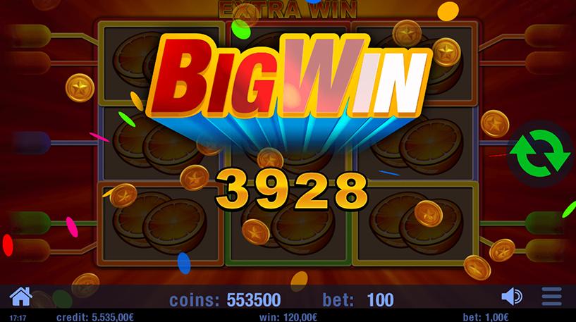 Extra Win Slot Screenshot 2