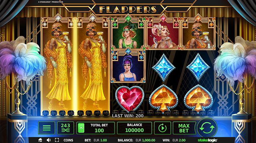 Flappers Slot Screenshot 2