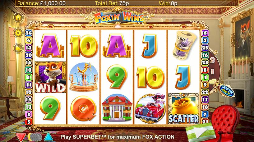 Foxin' Wins Slot Screenshot 2