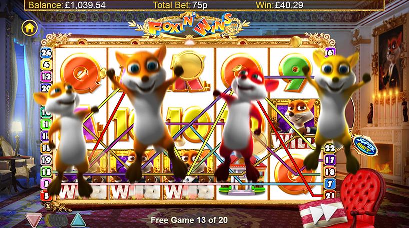 Foxin' Wins Slot Screenshot 3