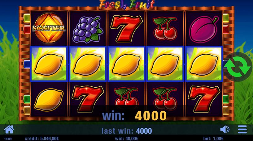 Fresh Fruit Slot Screenshot 2