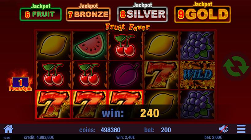 Fruit Fever Slot Screenshot 1