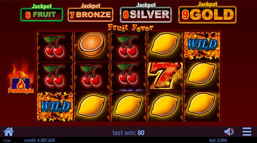 Fruit Fever Slot Screenshot 2