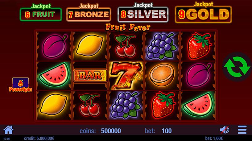 Fruit Fever Slot Screenshot 3