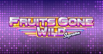 Fruits Gone Wild Supreme Slot