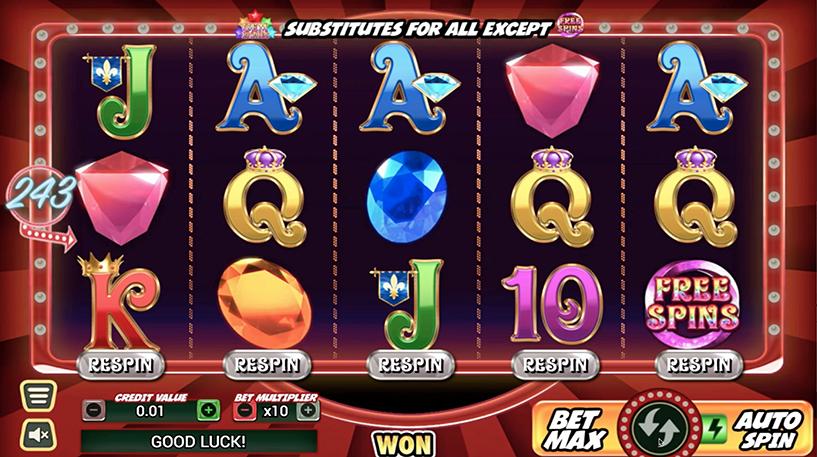 Gem Riches Slot Screenshot 1