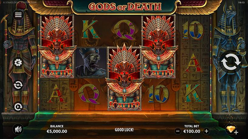 Gods of Death Slot Screenshot 3