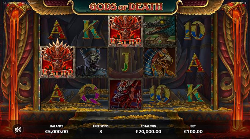 Gods of Death Slot Screenshot 2