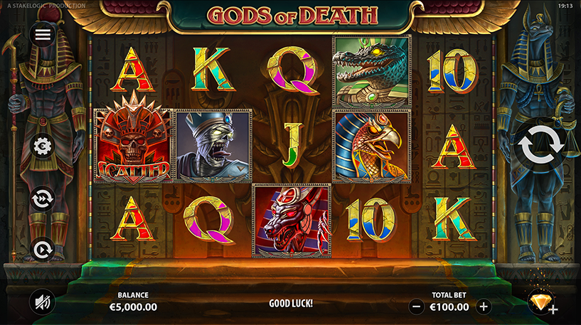 Gods of Death Slot Screenshot 1