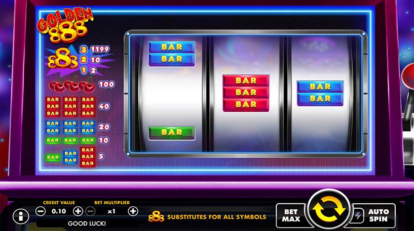 Golden 888 Slot Screenshot 1
