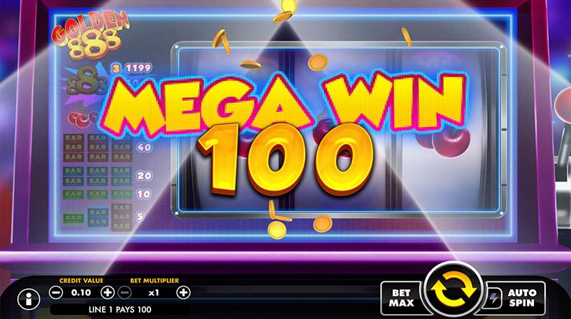 Golden 888 Slot Screenshot 2