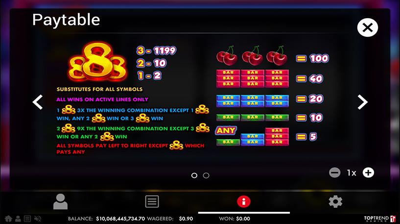 Golden 888 Slot Screenshot 3