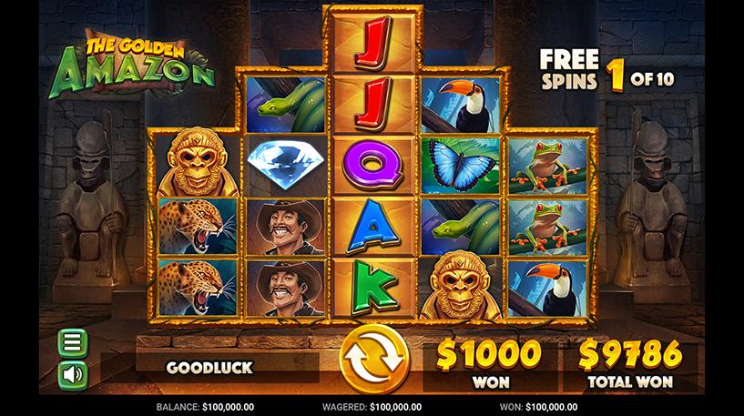 Golden Amazon Slot Screenshot 1