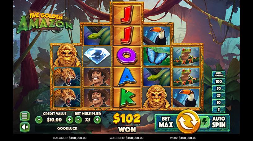 Golden Amazon Slot Screenshot 3