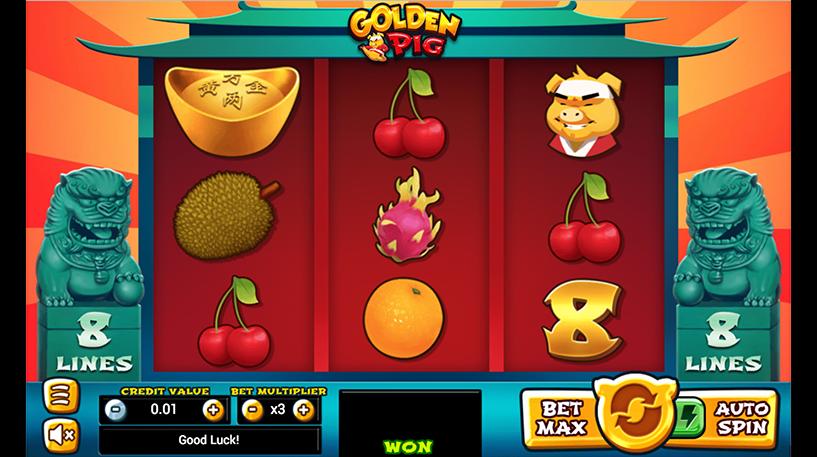 Golden Pig Slot Screenshot 1