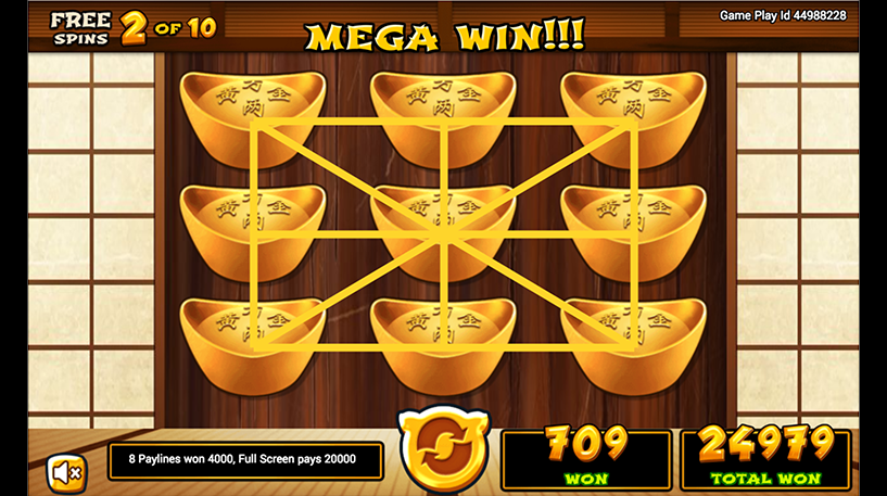 Golden Pig Slot Screenshot 3