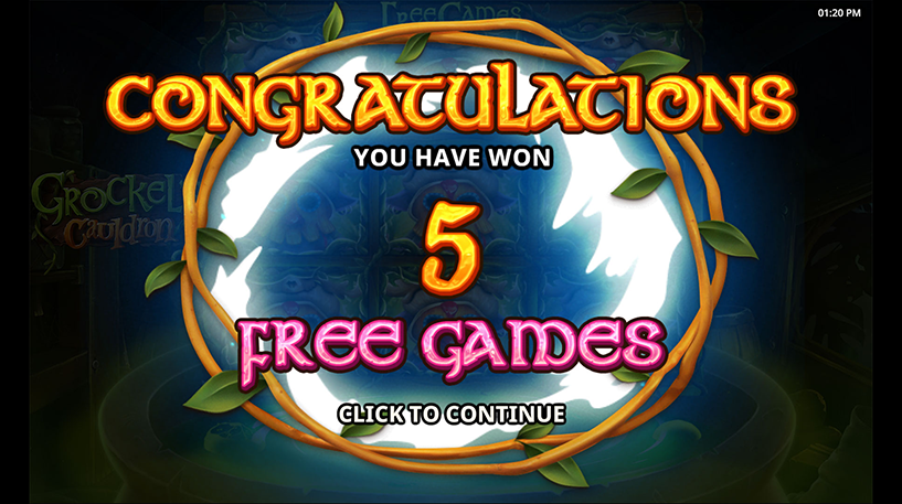 Grockel's Cauldron Slot Screenshot 3