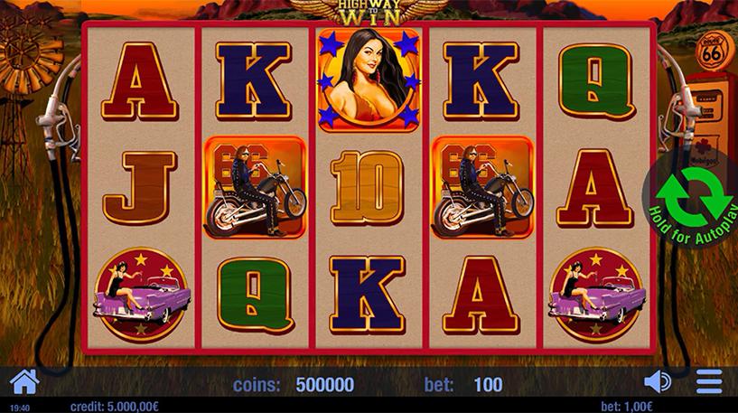 Highway to Win Slot Screenshot 2