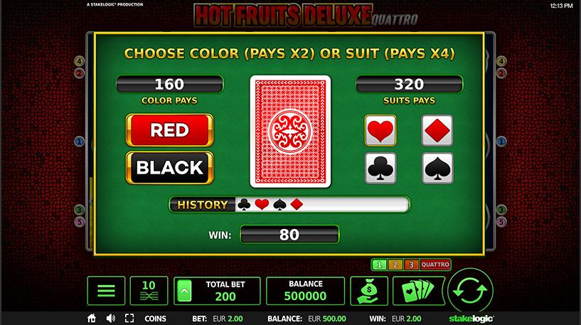 Hot Fruits Deluxe Quattro Slot