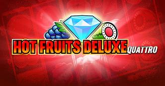 Hot Fruits Deluxe Quattro Slot Screenshot 2