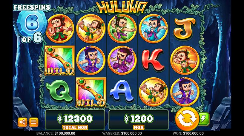 Huluwa Slot Screenshot 2