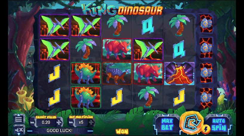 King Dinosaur Slot Screenshot 1
