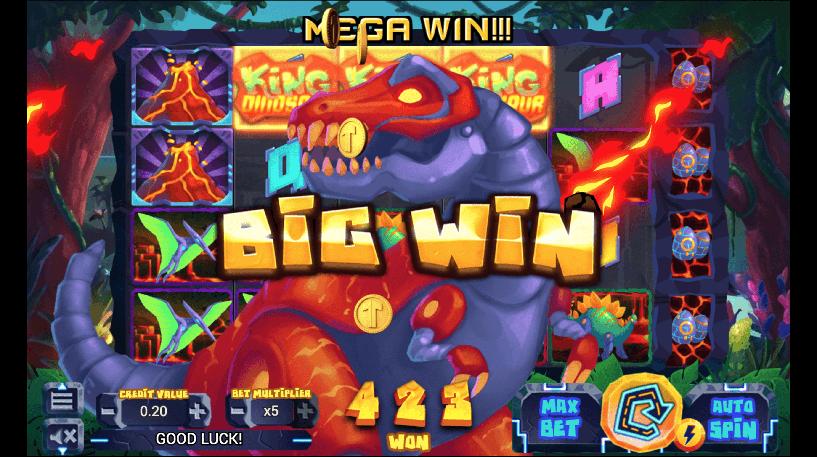 King Dinosaur Slot Screenshot 2