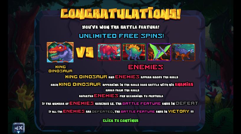 King Dinosaur Slot Screenshot 3