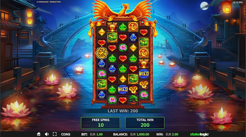 Legend Rising Slot Screenshot 2