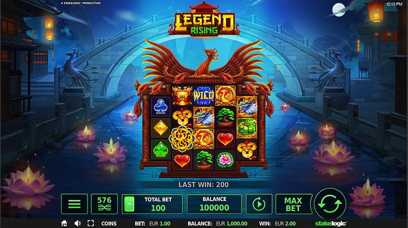 Legend Rising Slot Screenshot 3
