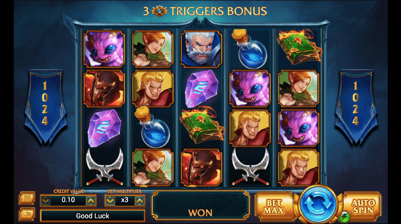 Legendary Slot Screenshot 1