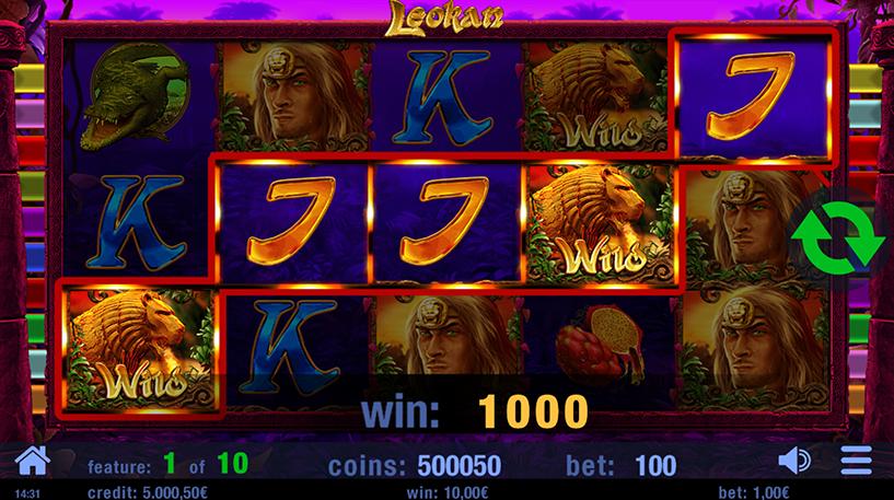 Leokan Slot Screenshot 2