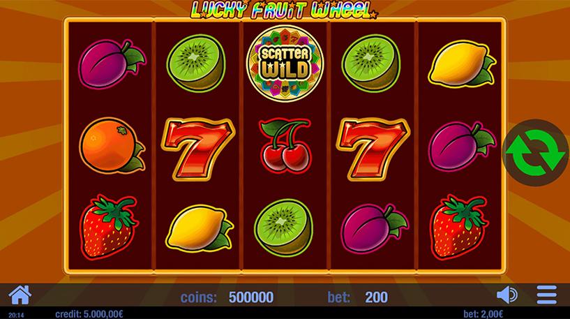 Lucky Fruit Wheel Slot Screenshot 2
