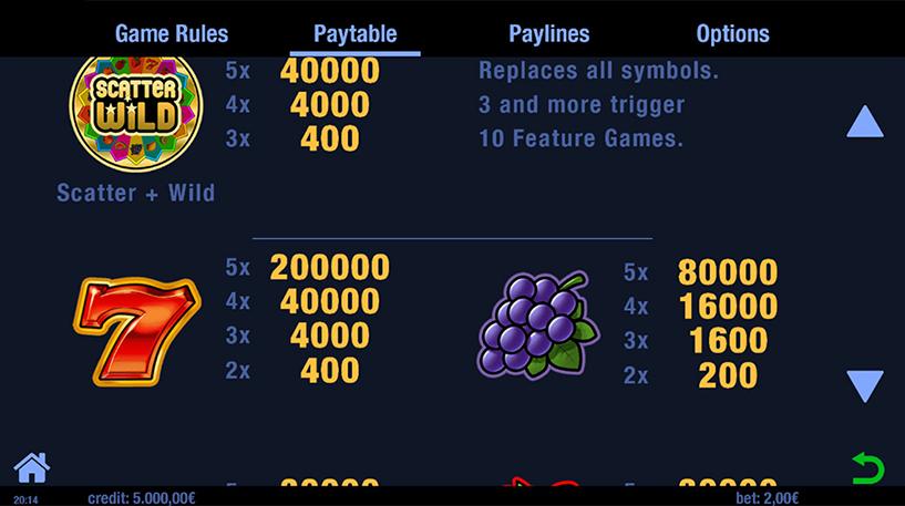Lucky Fruit Wheel Slot Screenshot 3