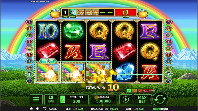 Lucky Gems Deluxe Quattro Screenshot 1