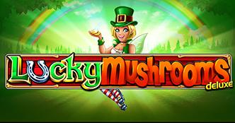 Lucky Mushrooms Deluxe Slot